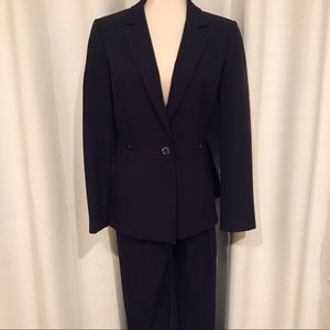 Burgundy suit jacket by Tahari size 10